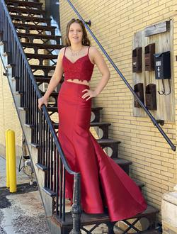 Alyce Paris Red Size 6 Prom Train Dress on Queenly