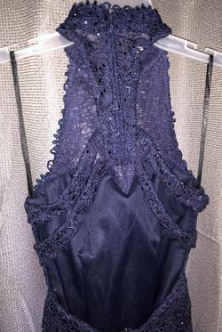 Alyce Paris Blue Size 00 Sorority Formal Wedding Guest Cocktail Dress on Queenly