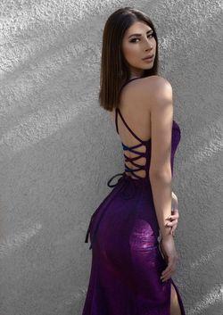 Multicolor Size 0 Side slit Dress on Queenly