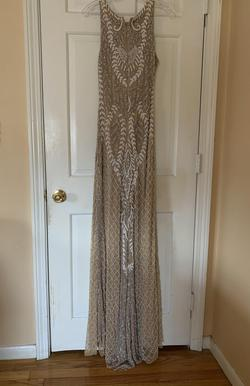 Nude Size 2 Ball gown on Queenly
