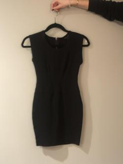 French Connection Black Size 2 Mini Tall Height Cocktail Dress on Queenly