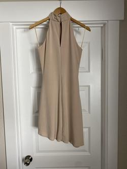 Juan Carlos Nude Size 6 Pageant Cocktail Dress on Queenly