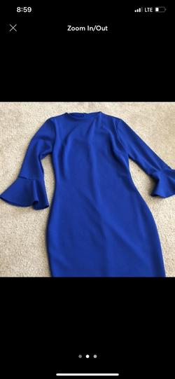 Queenly size 2 Lulus Blue Cocktail evening gown/formal dress