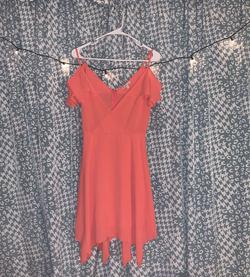 Charlotte Russe Orange Size 2 Homecoming A-line Dress on Queenly