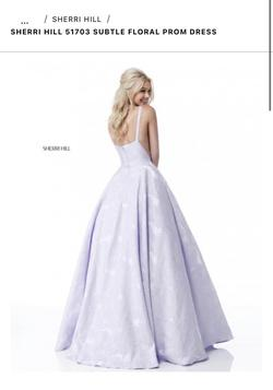 Style 51703 Sherri Hill Purple Size 2 Ball gown on Queenly