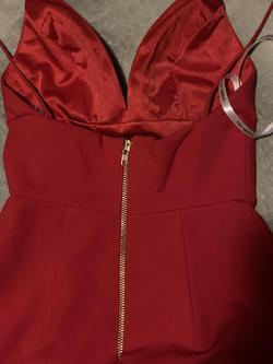 Sherri Hill Red Size 2 Mini Sorority Formal Cocktail Dress on Queenly