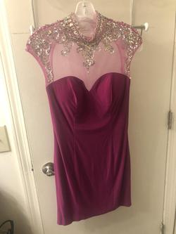 Queenly size 6  Pink Cocktail evening gown/formal dress