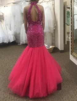 Sherri Hill Pink Size 4 Mermaid Dress on Queenly