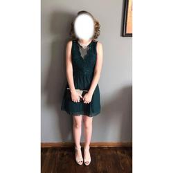 Speechless Green Size 0 Prom A-line Dress on Queenly