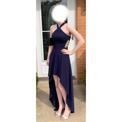 Speechless Blue Size 0 Train Dress on Queenly