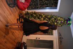 Mac Duggal Black Size 4 Homecoming Interview Cocktail Dress on Queenly