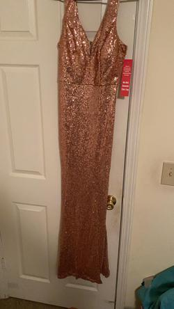 Multicolor Size 8 Straight Dress on Queenly