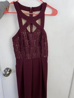 Speechless Purple Size 6 Sorority Formal Wedding Guest Cocktail Dress on Queenly