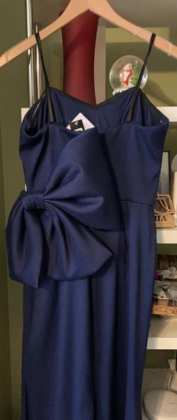 Xscape Blue Size 10 Sorority Formal Mermaid Dress on Queenly