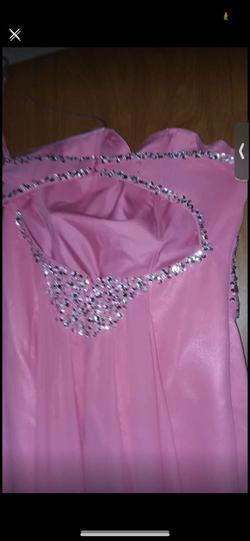 Pink Size 16 Straight Dress on Queenly