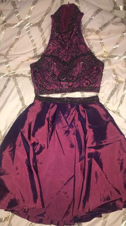 Sherri Hill Pink Size 2 Homecoming Pockets Cocktail Dress on Queenly
