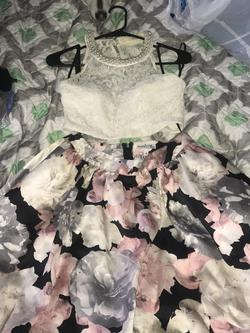 Multicolor Size 12 Train Dress on Queenly