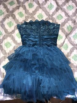 Blue Size 8 A-line Dress on Queenly