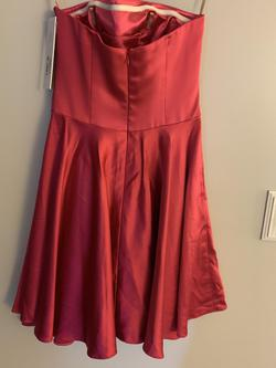 Jovani Pink Size 2 Strapless Cocktail Dress on Queenly