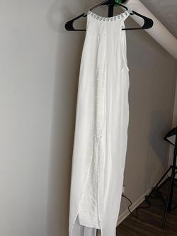 Queenly size 4  White Cocktail evening gown/formal dress