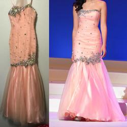 Pink Size 00 Mermaid Dress on Queenly