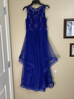 Xtraordinary Blue Size 14 Straight Dress on Queenly