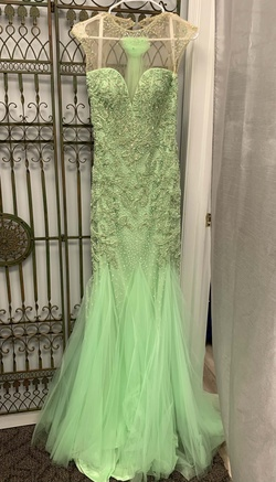 Envious Couture Green Size 2 Mermaid Dress on Queenly