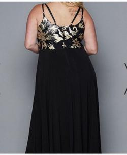 Black Size 16 A-line Dress on Queenly