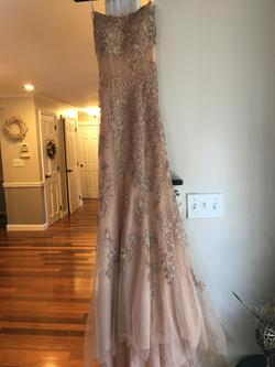 Style 52338 Sherri Hill Gold Size 00 Prom Mermaid Dress on Queenly
