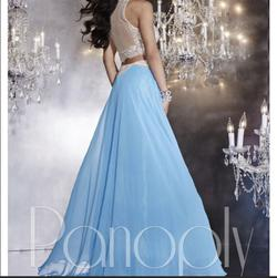 Panoply Blue Size 0 Pageant A-line Dress on Queenly