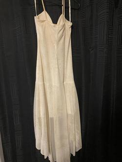 Xoxo Nude Size 2 Sorority Formal Wedding Guest A-line Dress on Queenly