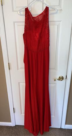 Red Size 18 Straight Dress on Queenly