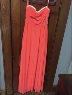 Orange Size 10 A-line Dress on Queenly