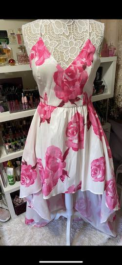 Pink Size 14 Side slit Dress on Queenly