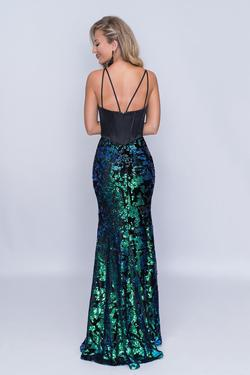 Style 6506 Nina Canacci Green Size 18 Sweetheart Tall Height Mermaid Dress on Queenly