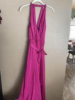 Express Pink Size 4 Jumpsuit Dress on Queenly