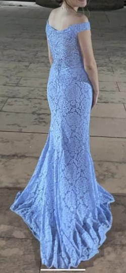 Blue Size 2 A-line Dress on Queenly