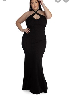 Black Size 18 Mermaid Dress on Queenly