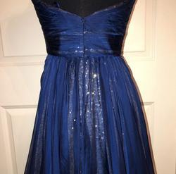 La Femme Blue Size 8 Wedding Guest Cocktail Dress on Queenly
