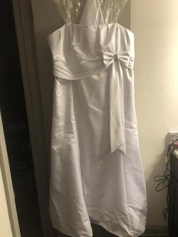 White Size 18 Straight Dress on Queenly