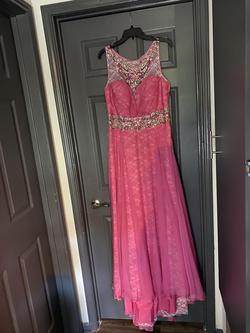 Rachel Allan Pink Size 14 Straight Dress on Queenly