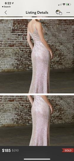 Nude Size 6 Side slit Dress on Queenly