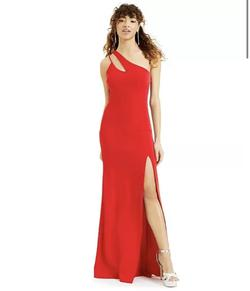 City Triangles Red Size 6 Side slit Dress on Queenly