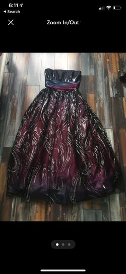 Multicolor Size 4 Straight Dress on Queenly