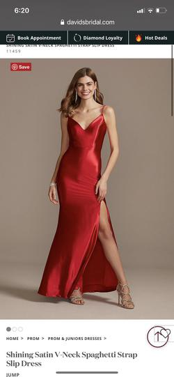 Jump Red Size 8 Straight Dress on Queenly