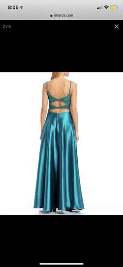 Green Size 8 A-line Dress on Queenly