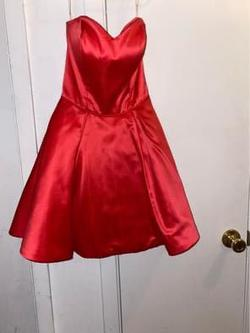 Sherri Hill Pink Size 00 Sweetheart Silk Cocktail Dress on Queenly