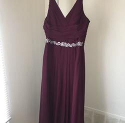 Purple Size 18 A-line Dress on Queenly