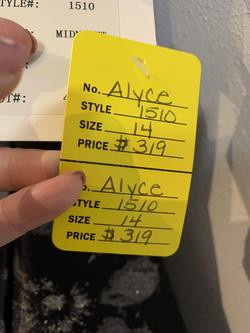 Alyce Pink Size 14 Ball gown on Queenly