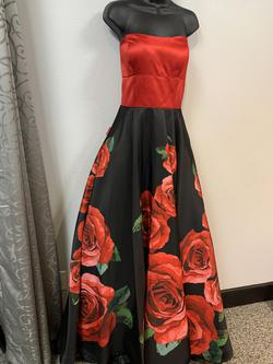Sherri Hill Red Size 12 Ball gown on Queenly